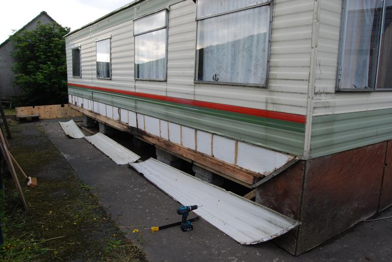 Repairing A Static Caravan